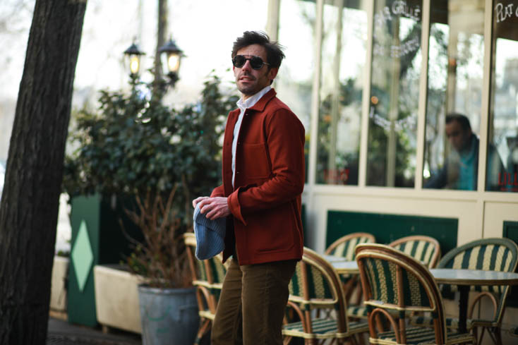 A DAYS MARCH OVERCOAT